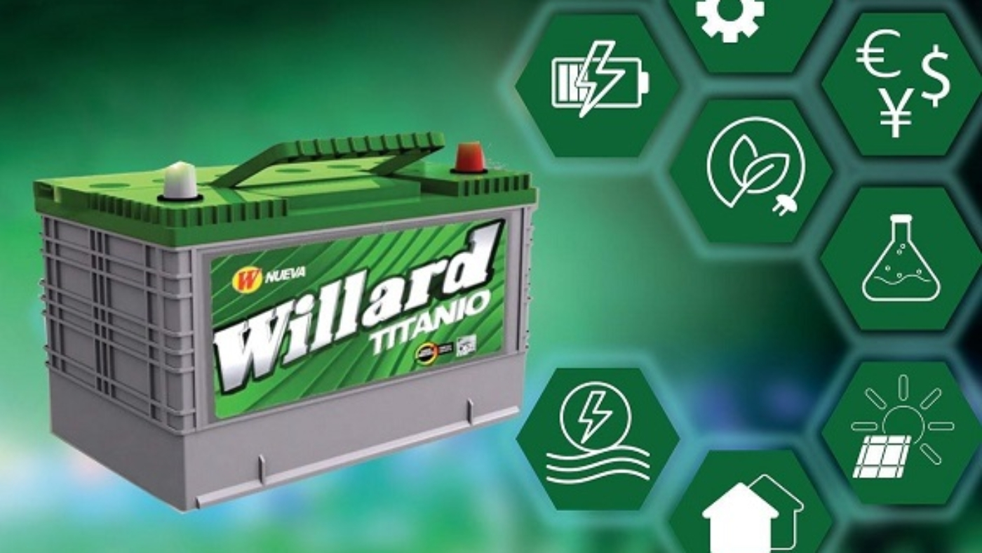 baterias willard cali